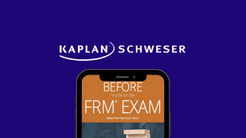 Kaplan Schweser FRM Free ebook offer