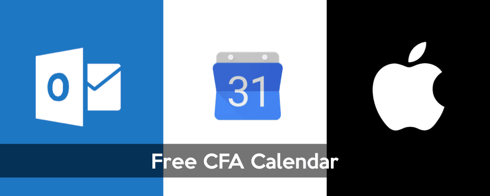 Free CFA Calendar, Keep Track of Important CFA Events and Dates 3