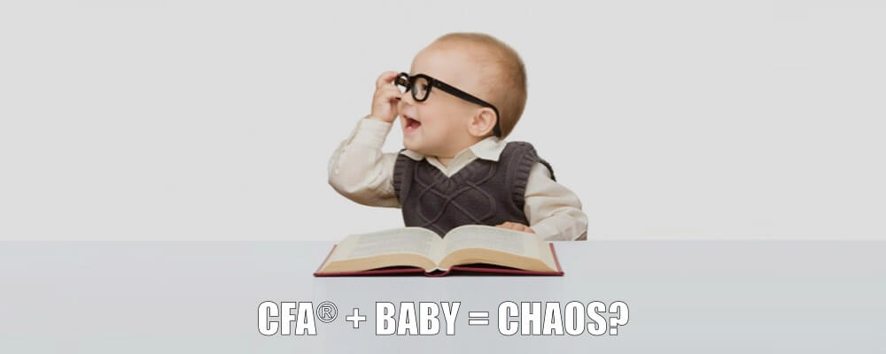 How I Passed the CFA Exams with a Newborn Child 2