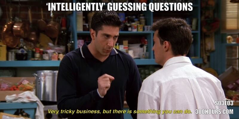 CFA Friends Meme: Guessing Answers to Exam Questions