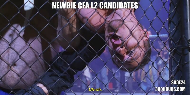 CFA Friends Meme: Moving from Level 1 to Level 2